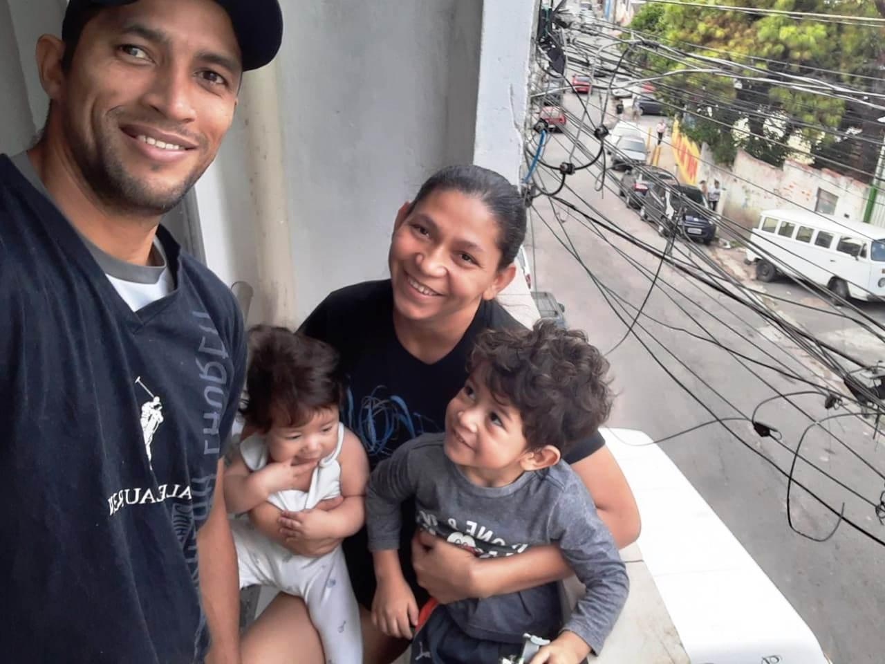 A felicidade estampada no rosto de quem recomeçou a vida em São Paulo